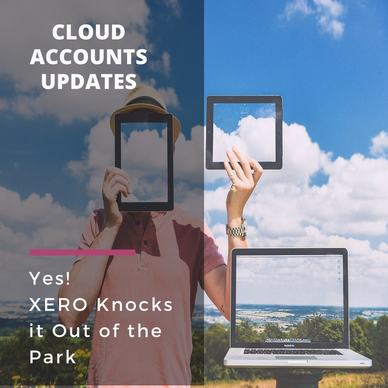 Yes! Xero Knocks it Outta the Park