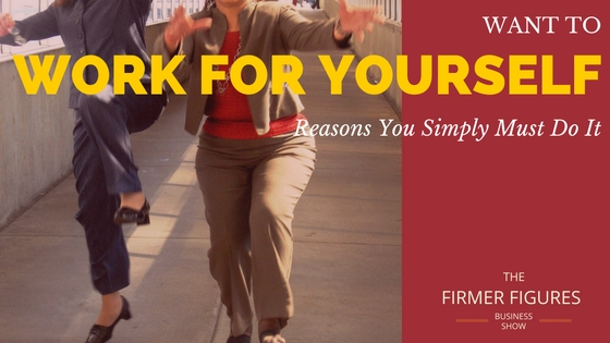 FFS003:Want to Work for Yourself – Reasons You Simply Must Do it