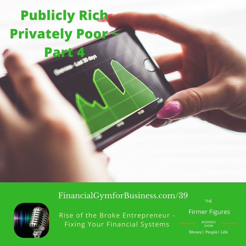 FFS39-Publicly Rich Privately Poor–The Rise of the Poor Entrepreneur – Part 4 – Fix Your Financial Systems